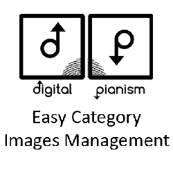 Digital Pianism Easy Category Images Management