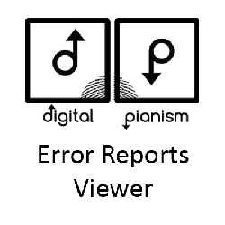 Digital Pianism Error Reports Viewer