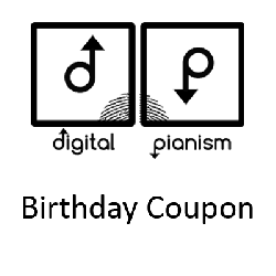 DigitalPianism BirthdayCoupon