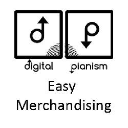 Digital Piansim Easy Merchandising