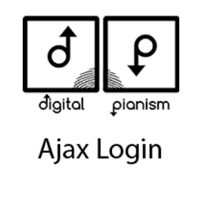 Digital Pianism Ajax Login