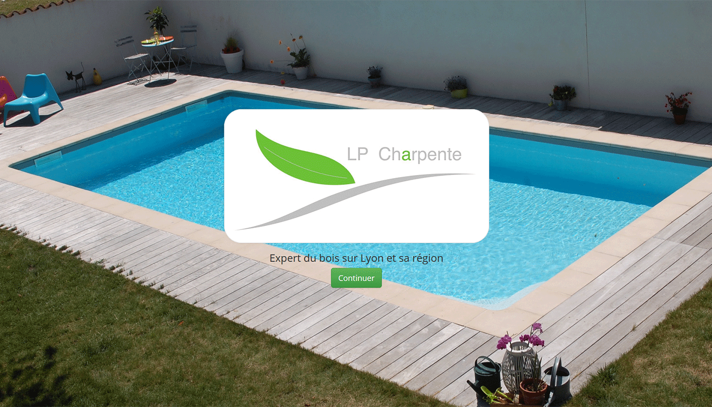 LP Charpente, website
